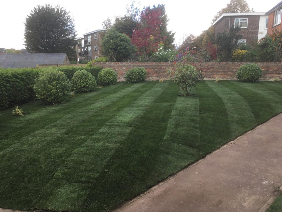 Natural Turf Installation - The Grassmaster