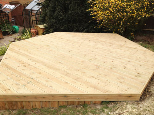 The Grass Master - Decking