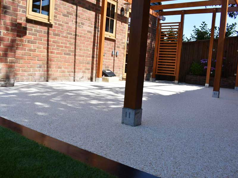 Resin Bound Driveways - The Grassmaster