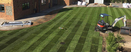 Natural Turf Installation